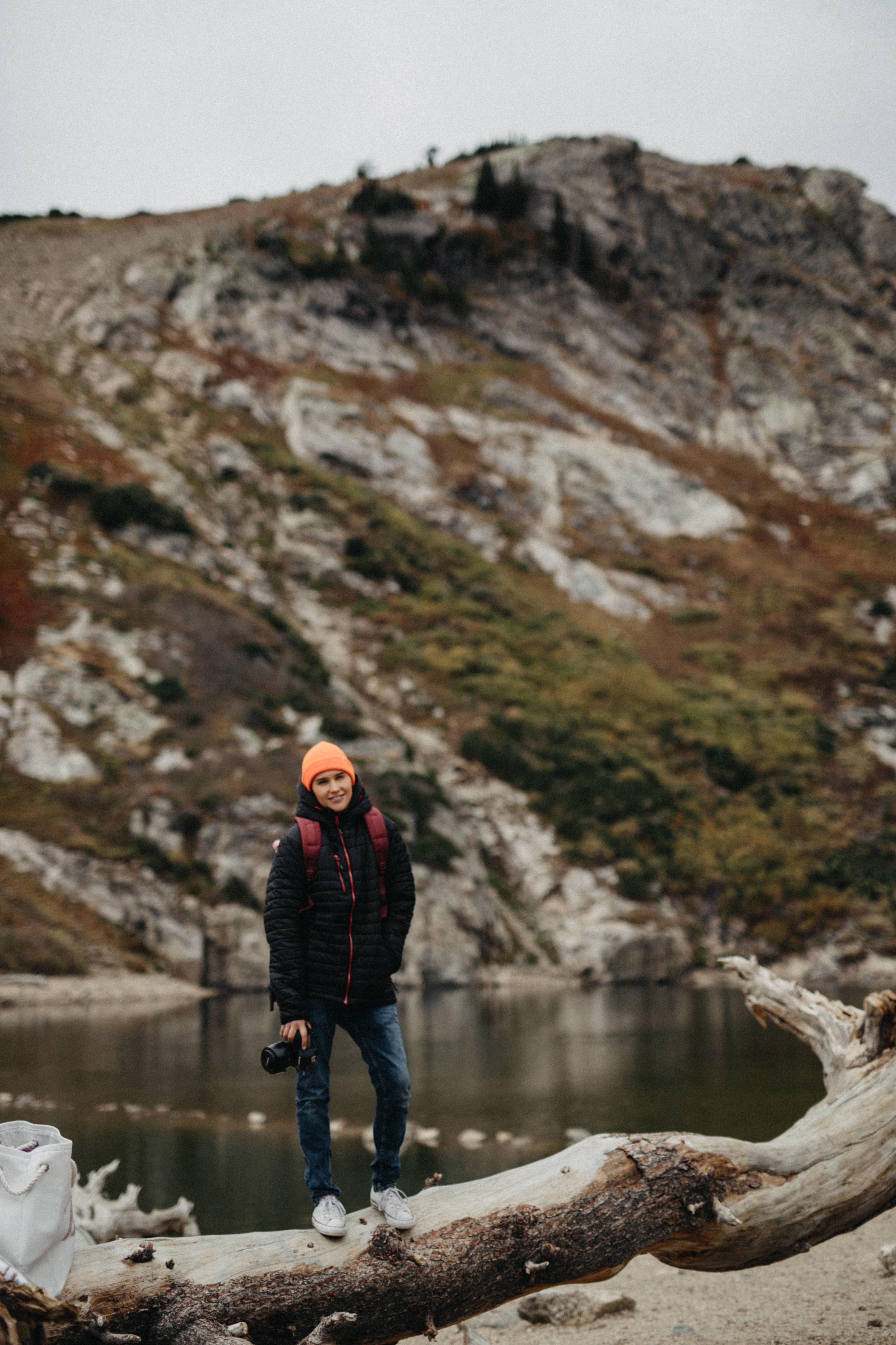 Engagement Portraits in Saint Mary's Glacier, Colorado
