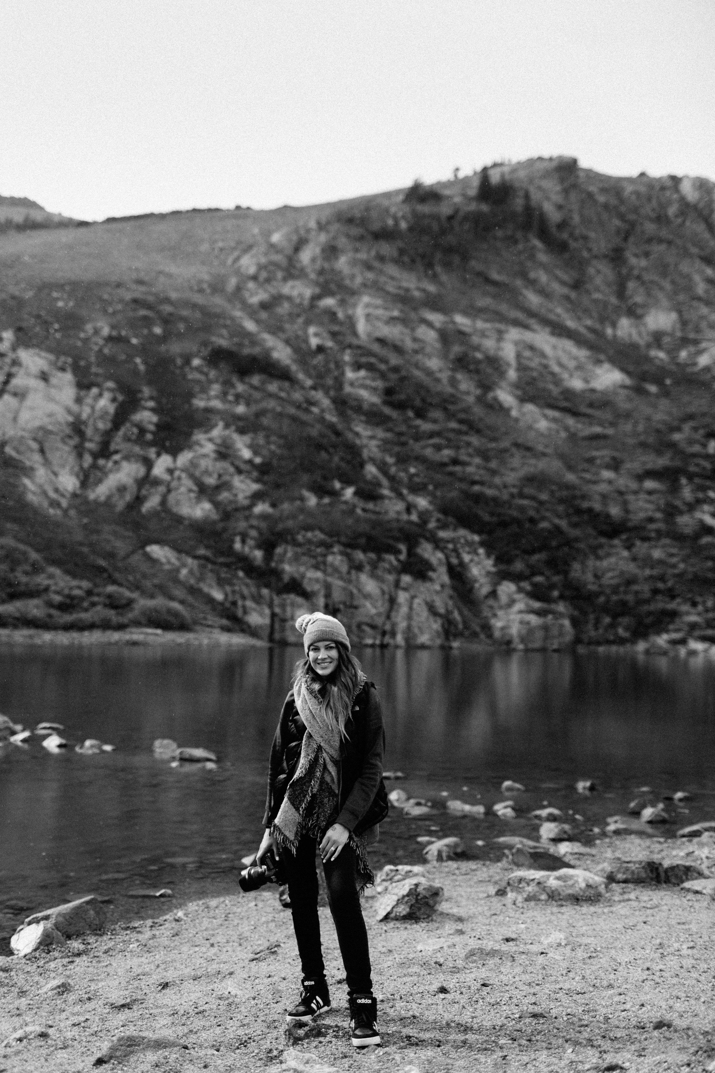Saint Mary's Glacier Engagement Portraits