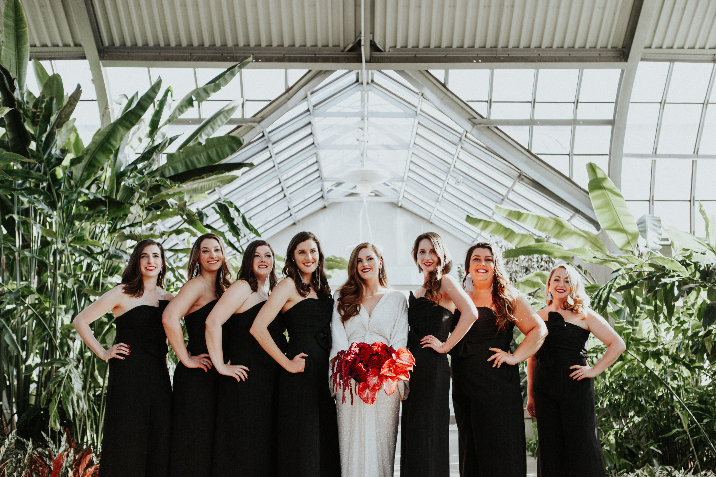 wedding photographer Garfield Park Conservatory chicago illinois