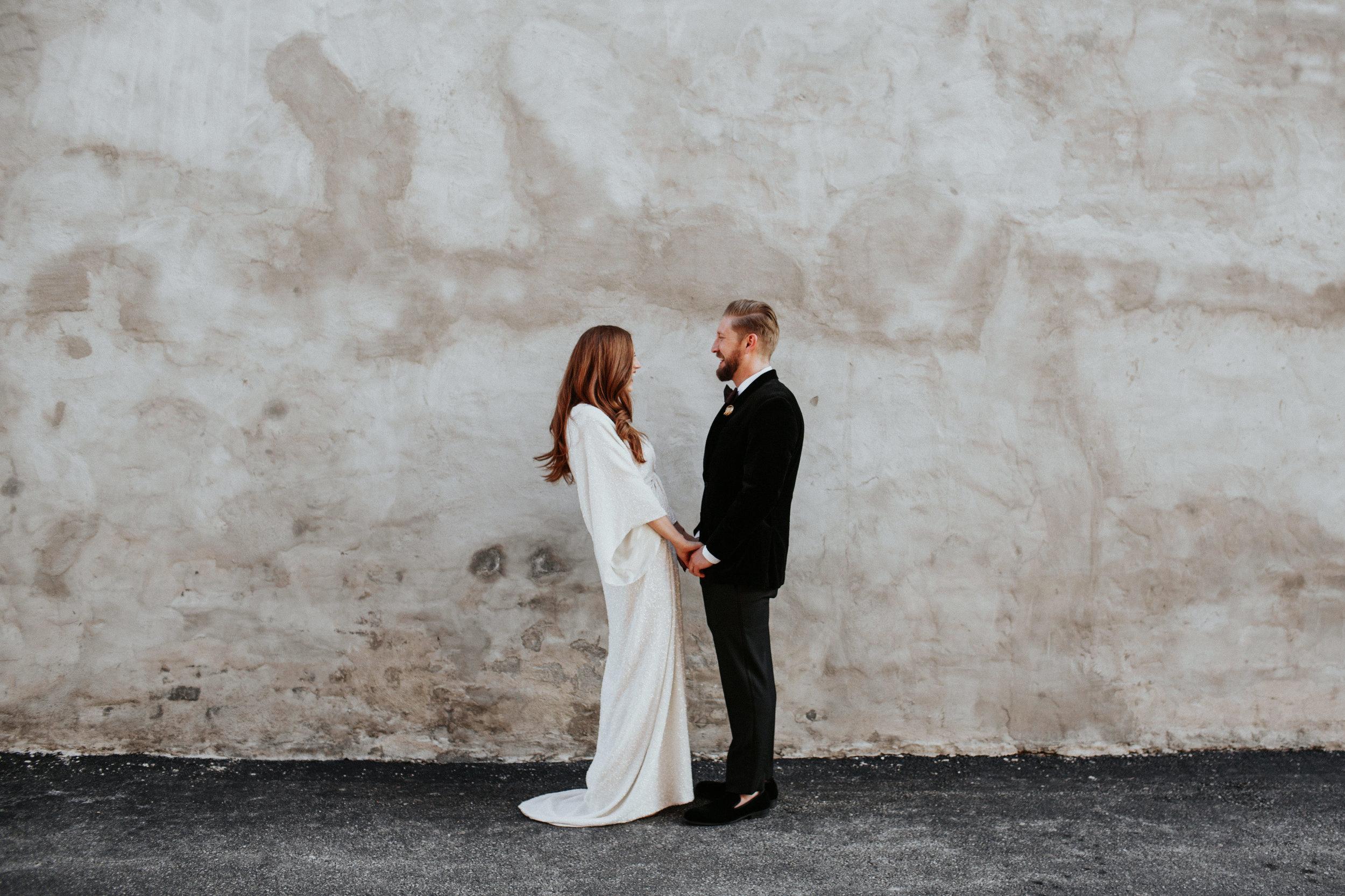 edgy boho wedding photography illinois