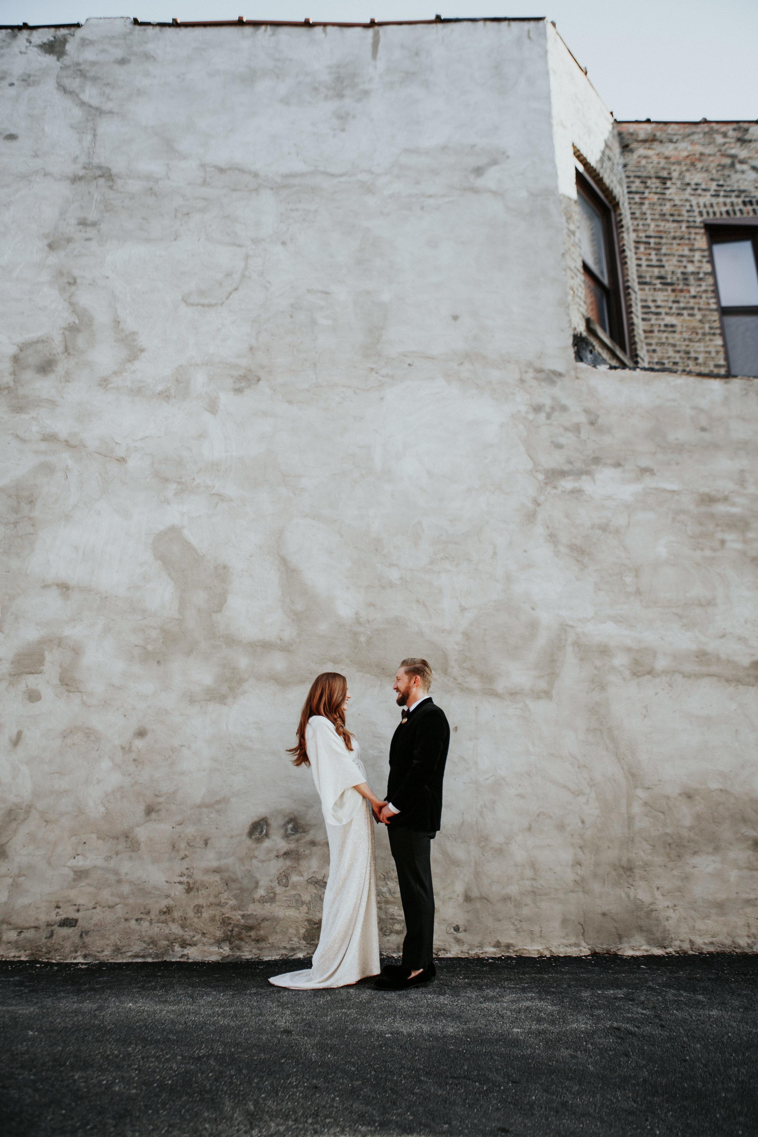 chicago wedding photography boho style