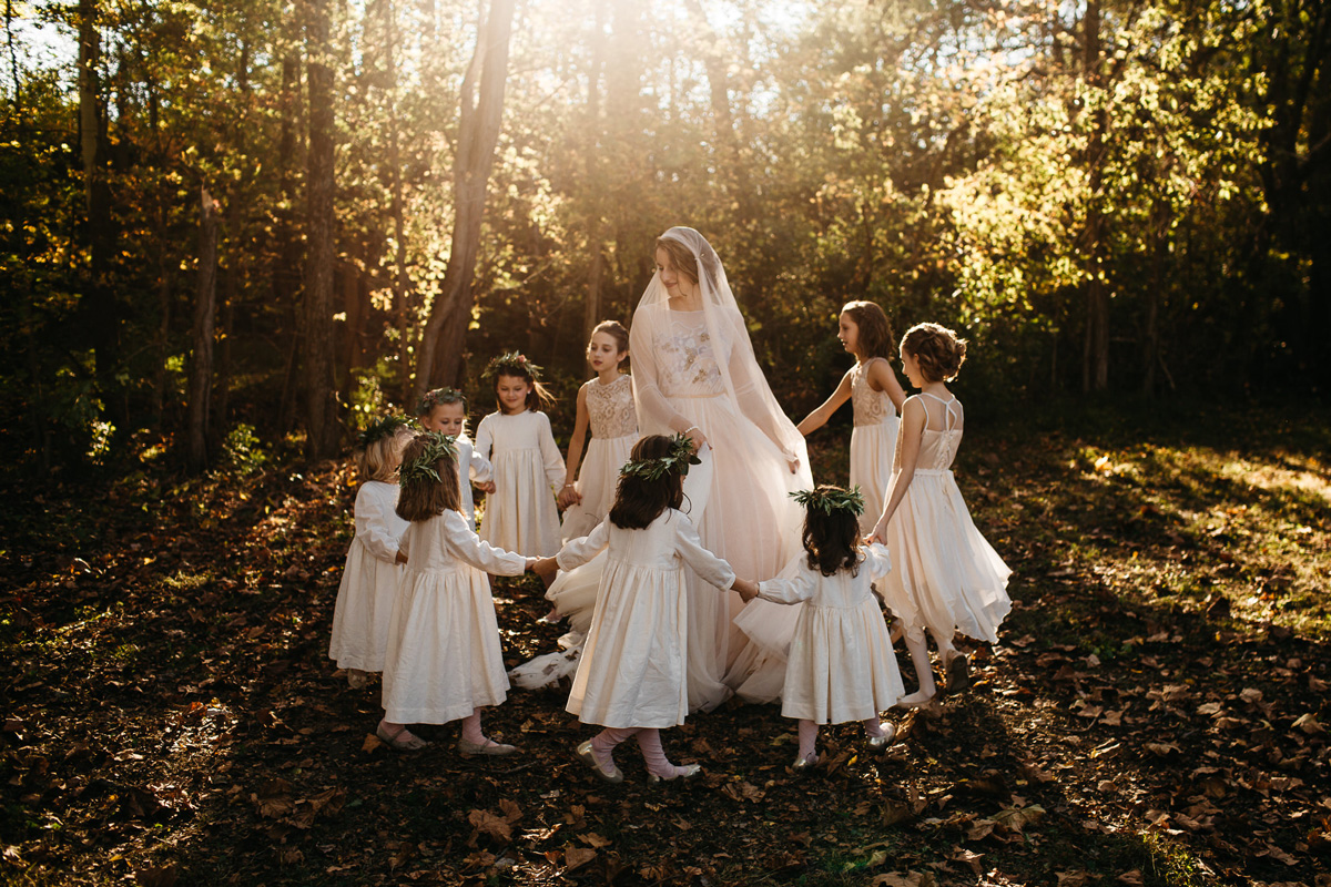 jen & will - 1920s inspired autumn wedding in Ohio