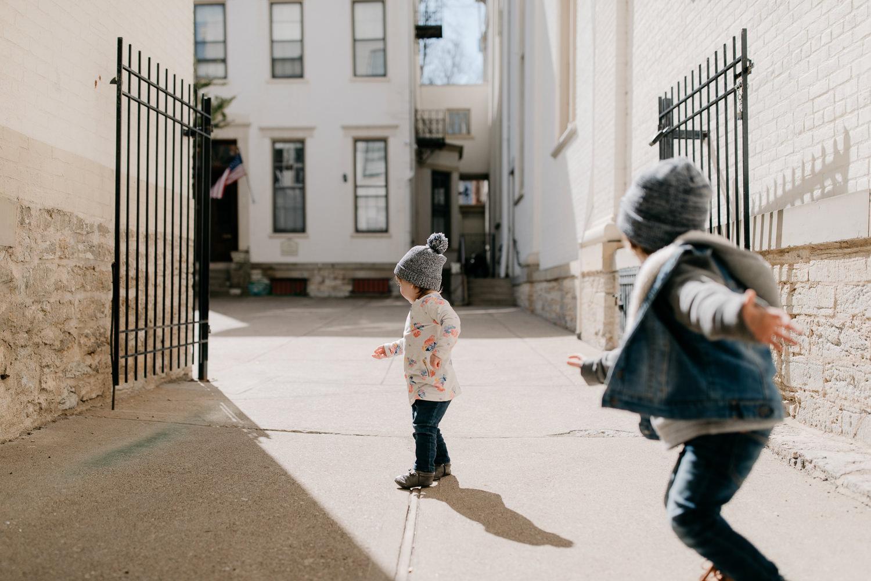 Lifestyle family session in Cincinnati, Ohio -
