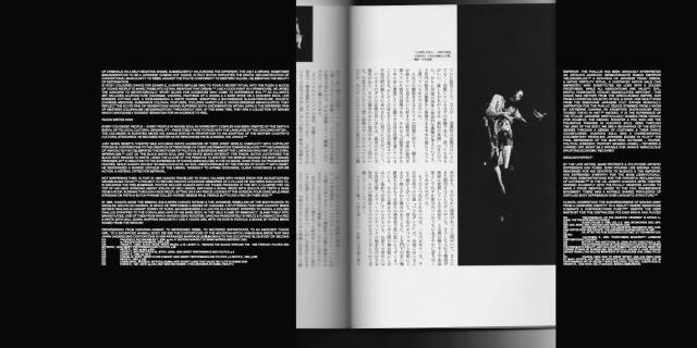 ADAM BROINOWSKI'S ESSAY ON TATSUMI HIJIKATA LAYOUT FROM SOME/THINGS MAGAZINE ISSUE001