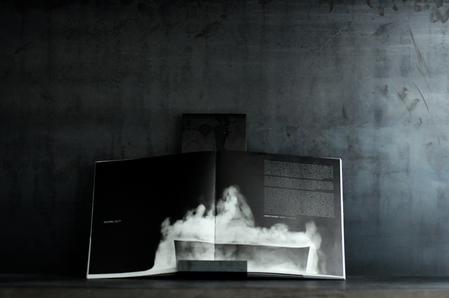 SOME/THINGS MAGAZINE CHAPTER005 RICK OWENS [PERFUME] THE SMELL OF DYING LILIES PHOTOGRAPHY BY MONIKA BIELSKYTE OPENING SPREAD PAGES 104-105