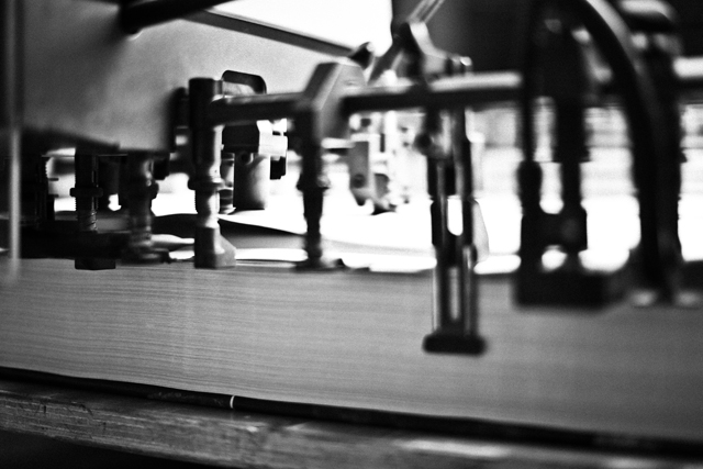 SOMESLASHTHINGS MAGAZINE CHAPTER006 printing at comelli photographed by matteo carcelli