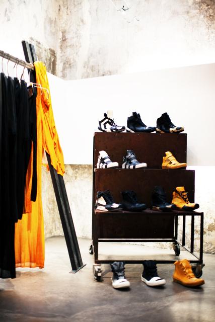 boris bidjan saberi showroom | ss14 collection, photography by matteo carcelli some/things s/tudio