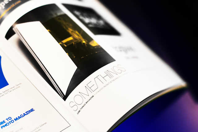 SOME/THINGS MAGAZINE ADVERTISEMENT FEATURED IN THE ART BASEL HONG KONG CATALOGUE, PHOTOGRAPHED BY MATTEO CARCELLI, SOME/THINGS AGENCY