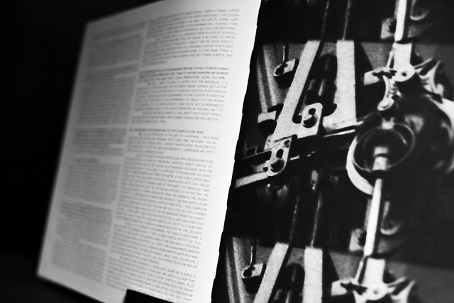 SOME/THINGS MAGAZINE CHAPTER005 PAUL HARNDEN FEATURE 'THE PATTERN MILL'