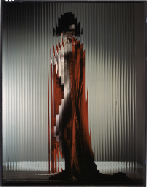 """erwin blumenfeld, variation of the photograph published in life magazine and titled """"the picasso girl"""" c. 1941–1942. ink jet printing on canson baryta paper. posthumous print (2012). collection henry blumenfeld © the estate of erwin blumenfeld"""