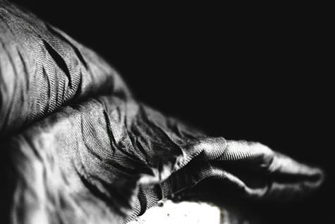 brethren scarf black/silver by matteo carcelli SOME/THINGS S/TUDIO