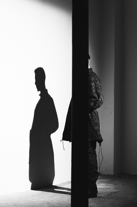 komakino autumn/winter 2014/15 collection | shooting at S/T secret CONCEPT\STORE by mote aoki sinabel & salvatore caputo | backstage photography by matteo carcelli | SOME/THINGS S/TUDIO