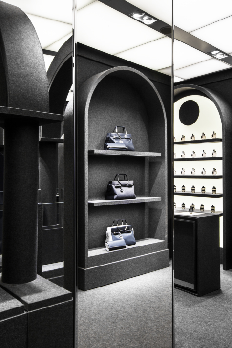 viktor & rolf paris flagship store by matteo carcelli   SOME/THINGS S/TUDIO