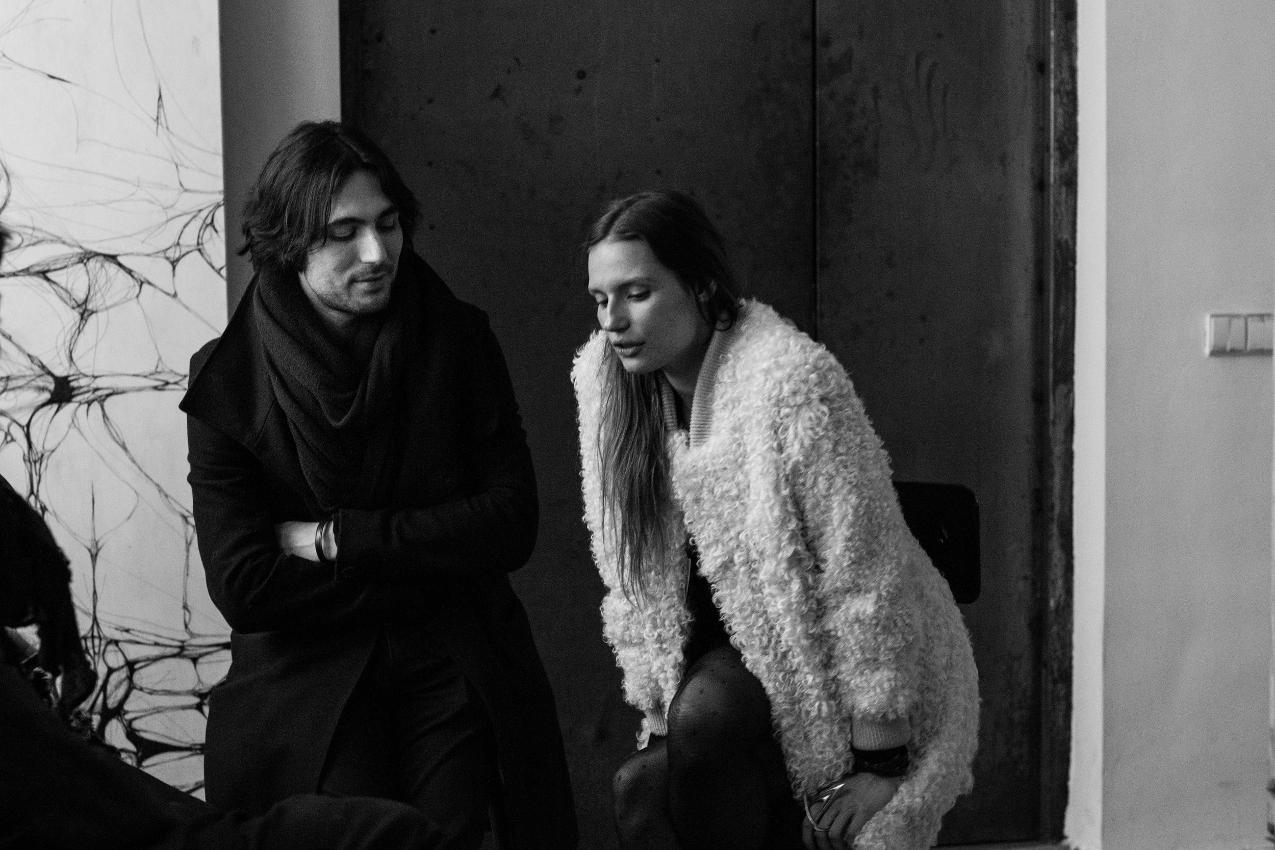 cate underwood & ludovico lombardi during SOME/ONE session at S/T CONCEPT S/TORE interviewed by maiko nakamura & jct photographed by arpa poonsriratt   S/TUDIO