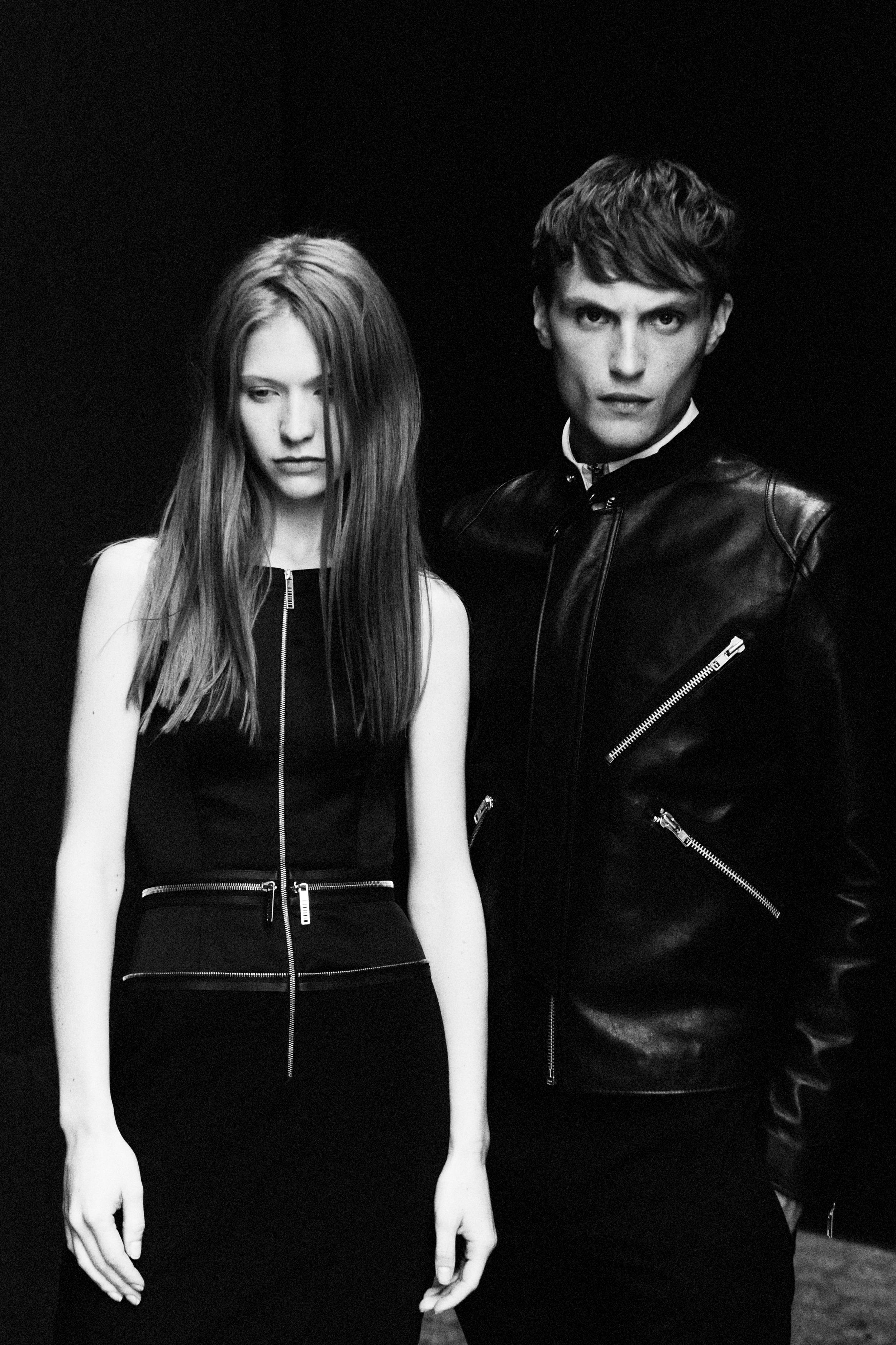 dress maxime simoëns leather jacket acne studios zip sweater komakino trousers kriss van assche photography by elise toïde    S/TUDIO