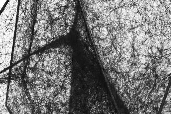 chiharu shiota exhibition at galerie daniel templon photography by nicklas thrysøe    S/TUDIO