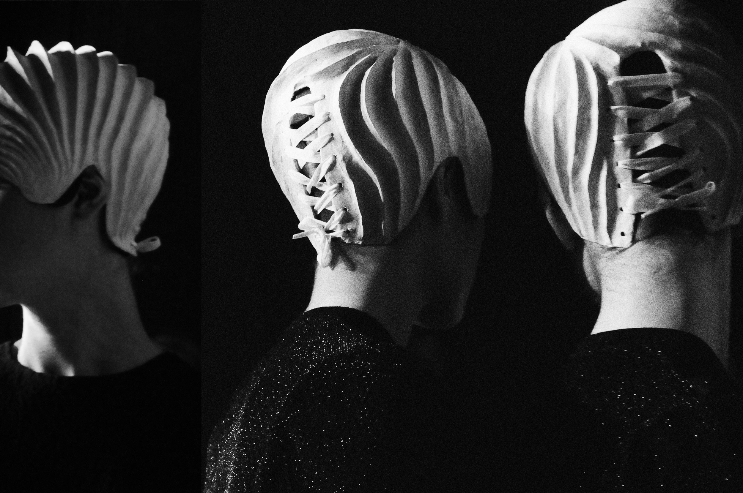 anrealage SS 2015 backstage photography by floriana castagna| S/TUDIO