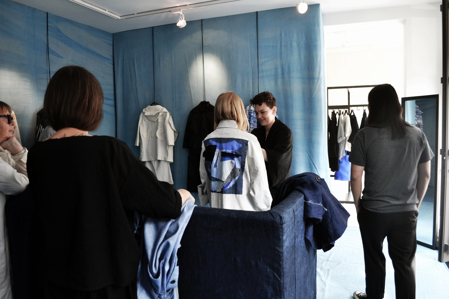 toogood unisex outerwear showroom photography byS/TEAM