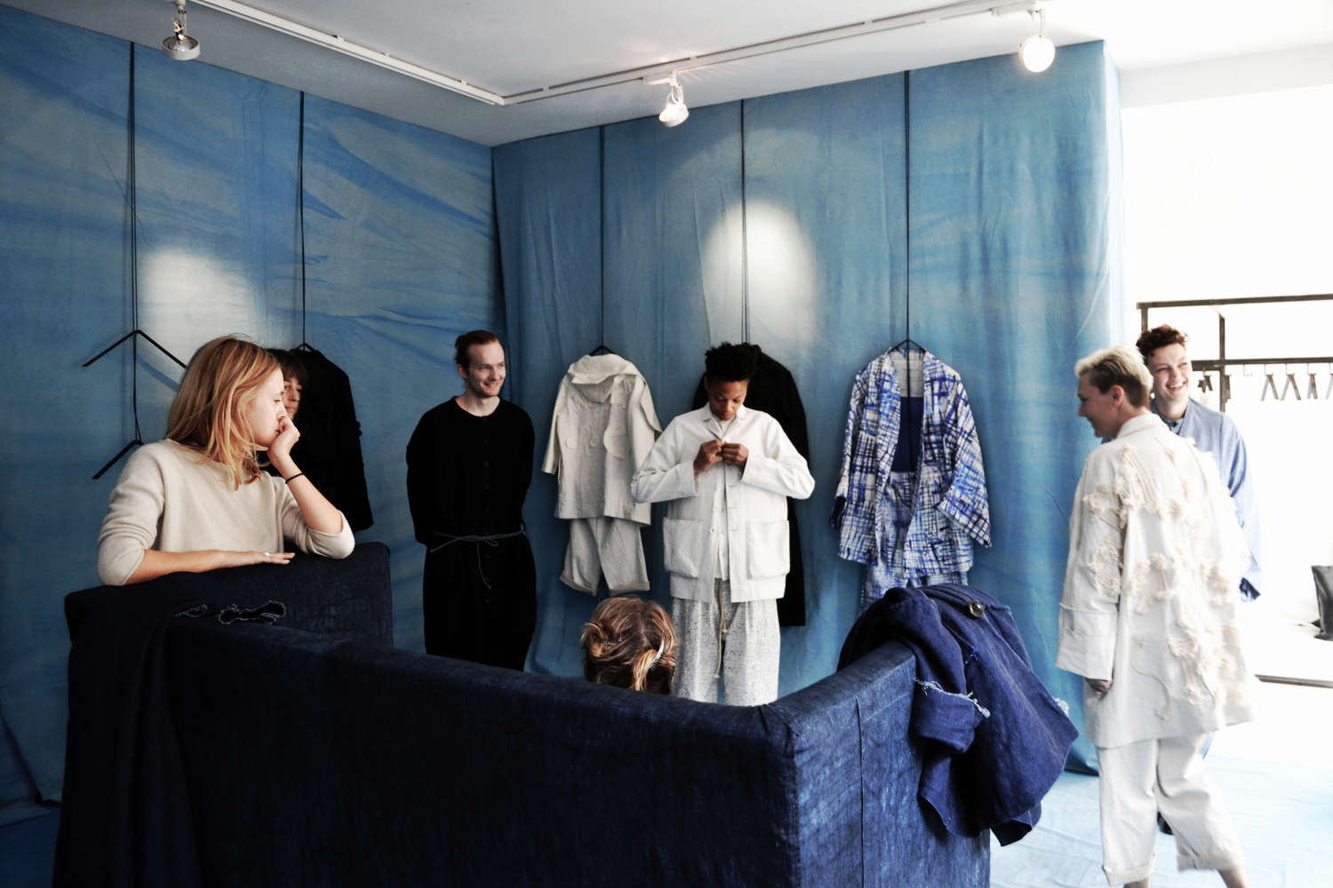 toogood unisex outerwear showroom photography by S/TEAM