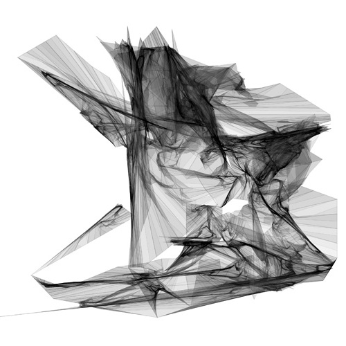 line drawing by michael hansmeyer