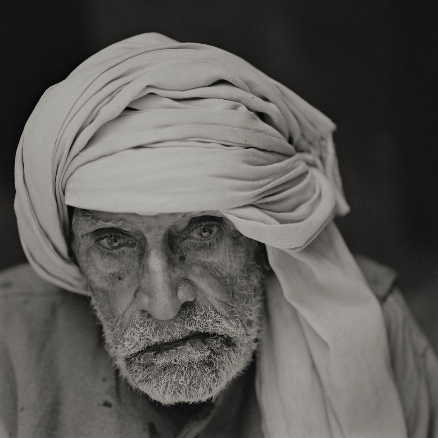 'eternal light' #3varanasi, india 2013. at the ''house of liberation'' a free housing where people come to die near the holy river ganges. a 100 years old man, a day before his departure.  by kenro izu