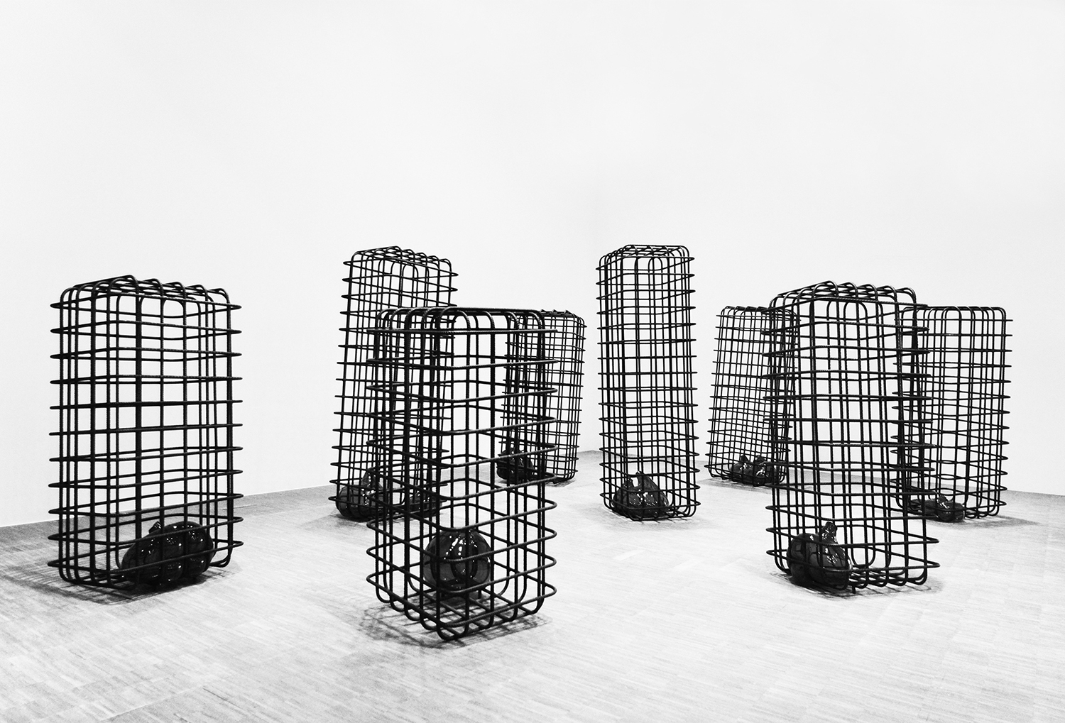 mona hatoum 'cellules' 2012-2013. photography by nicolas mazzei | S/TUDIO