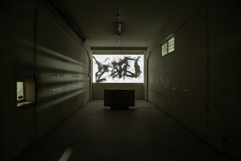 kurt hentschläger - CLUSTER X video installation