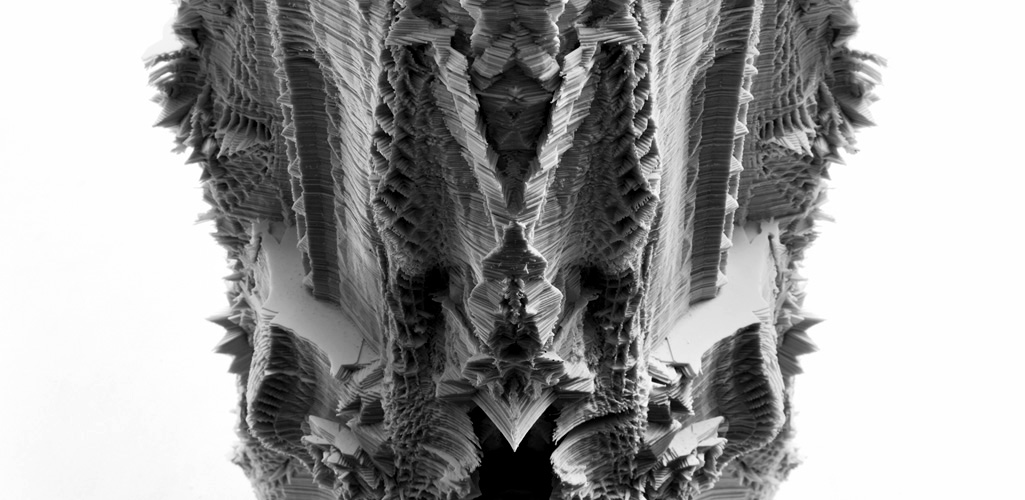 subdivided columns by michael hansmeyer photography by kyungsub shin