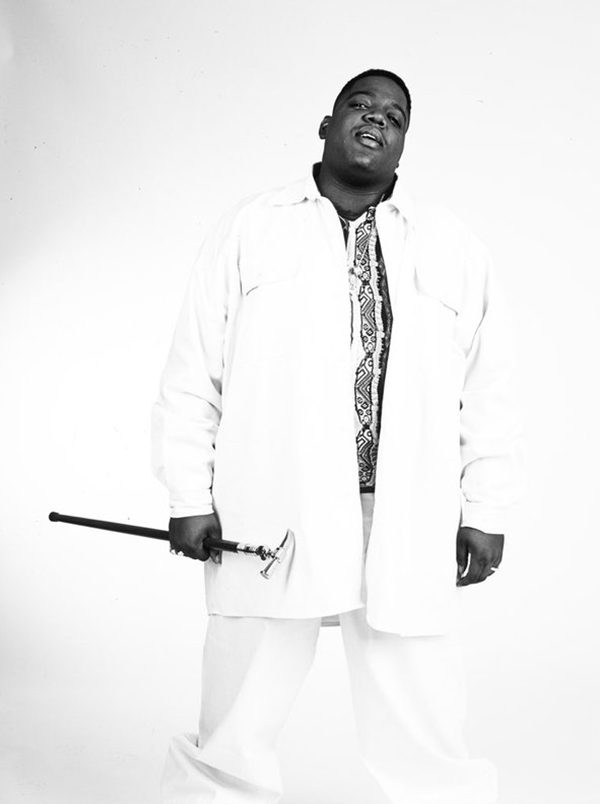The Notorious B.I.G. NYC. 1996  © Chi Modu