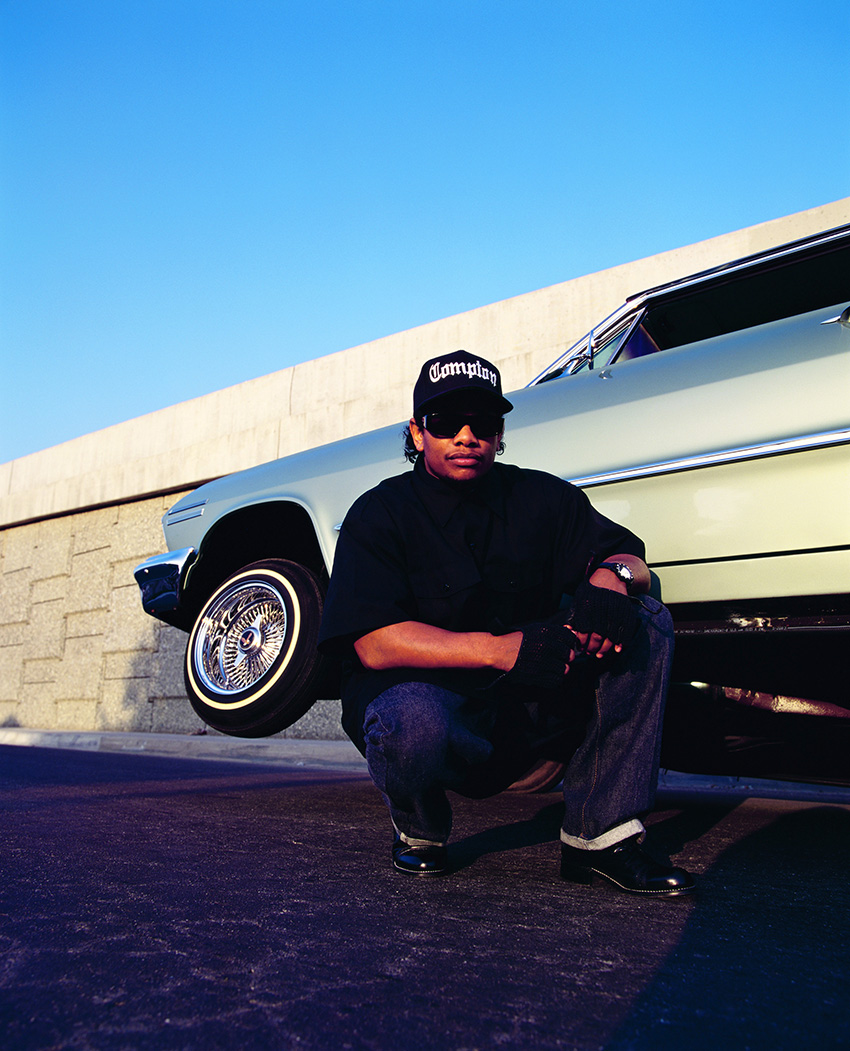 Eazy-E. Los Angeles. 1994  © Chi Modu