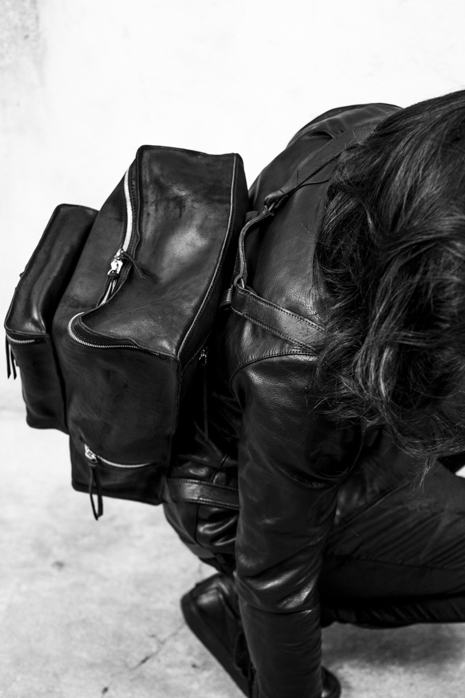 Photography  James Cheng Tan  Featuring  Tagliovivo S/S17 leather jackets & bags collection