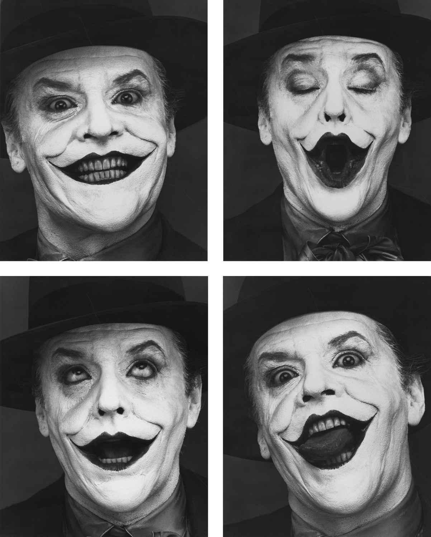 Herb Ritts - Jack Nicholson - Camera Work