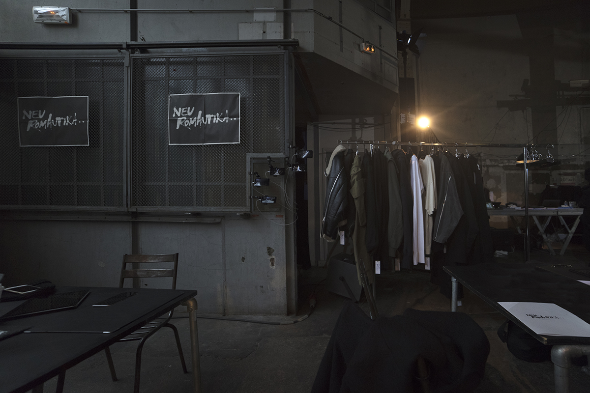Julius Autumn/Winter 2017-2018 Neuromantika men collection showroom in Paris |Photography by Pattern Caption 7