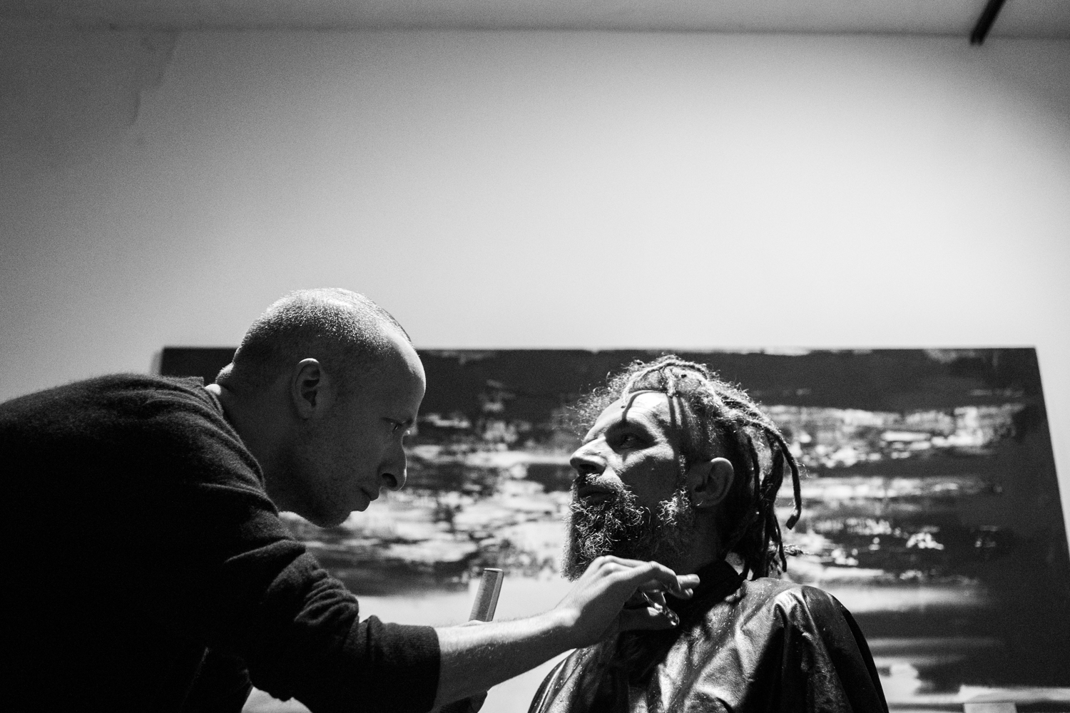 the hair project part II featuring andy.r with maurizio altieri | photography by james cheng tan