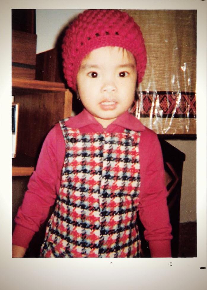 Rachel, Age 3: fashionista-in-training