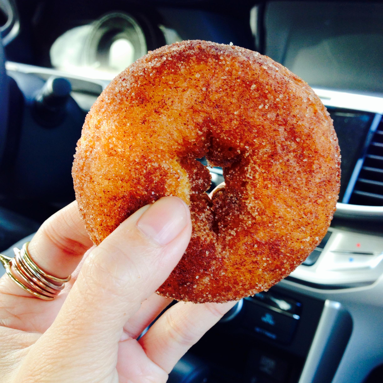 Honey Pot Hill cider donut!