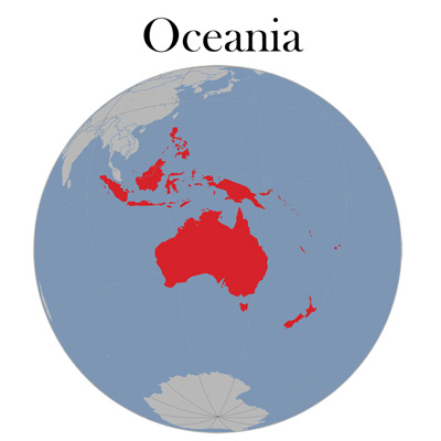 Australia and South Pacific