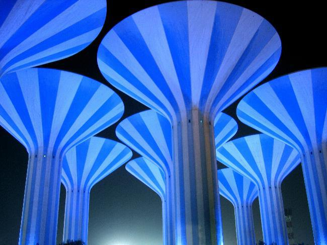 Water Towers in Kuwait