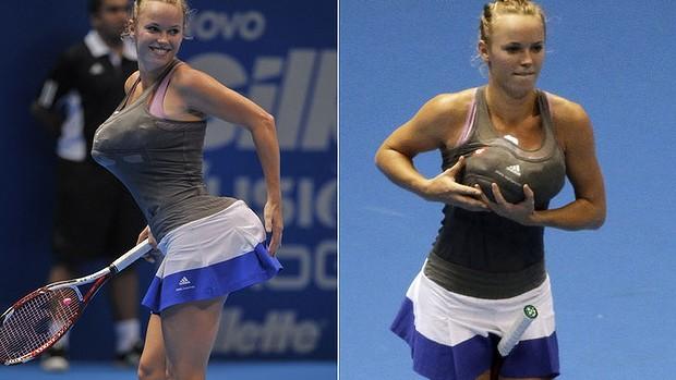 Caroline Wozniacki via smh.com.au