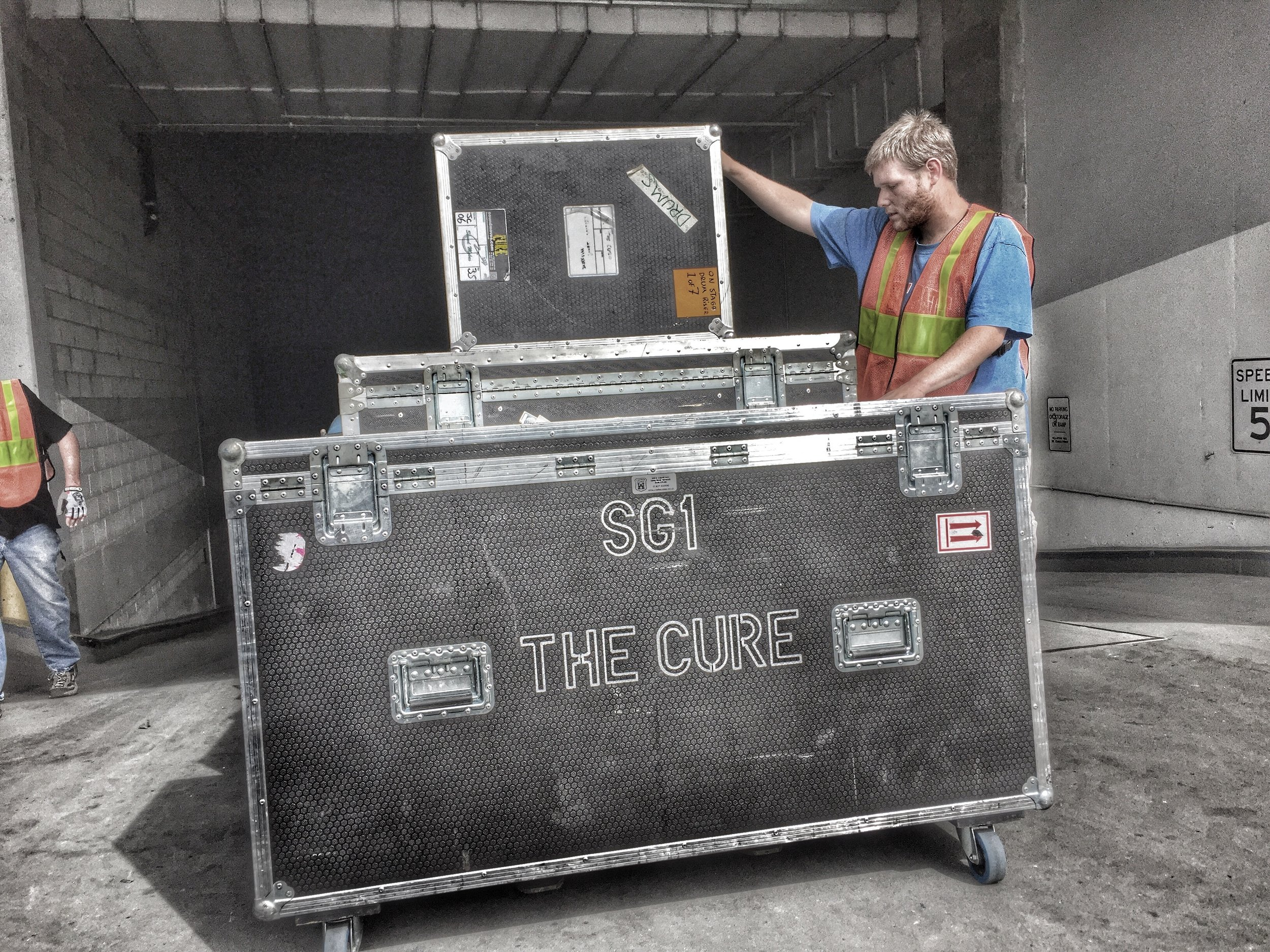 The Cure | Load-In | 2016
