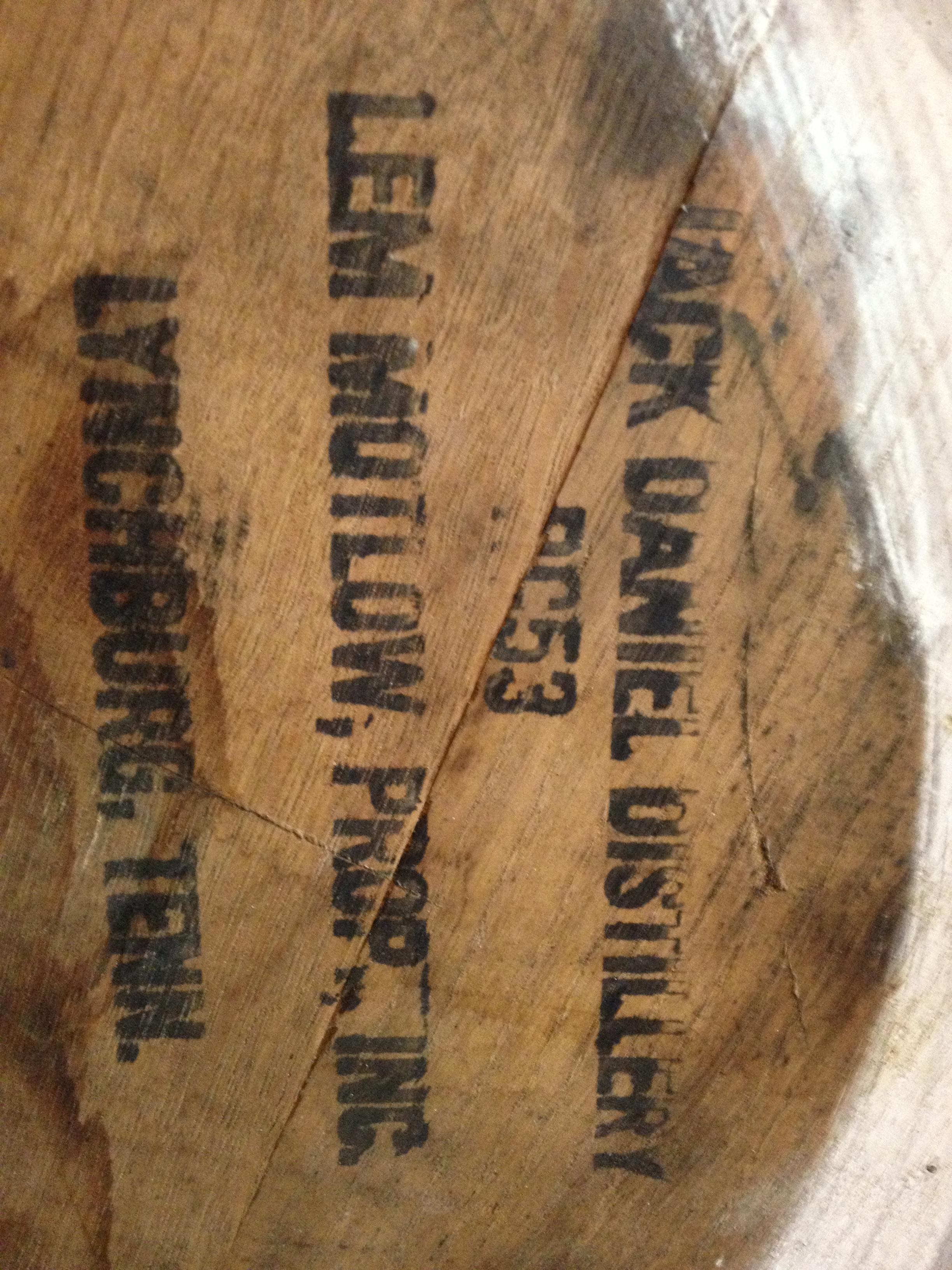 Jack Daniels barrels via Jamaica
