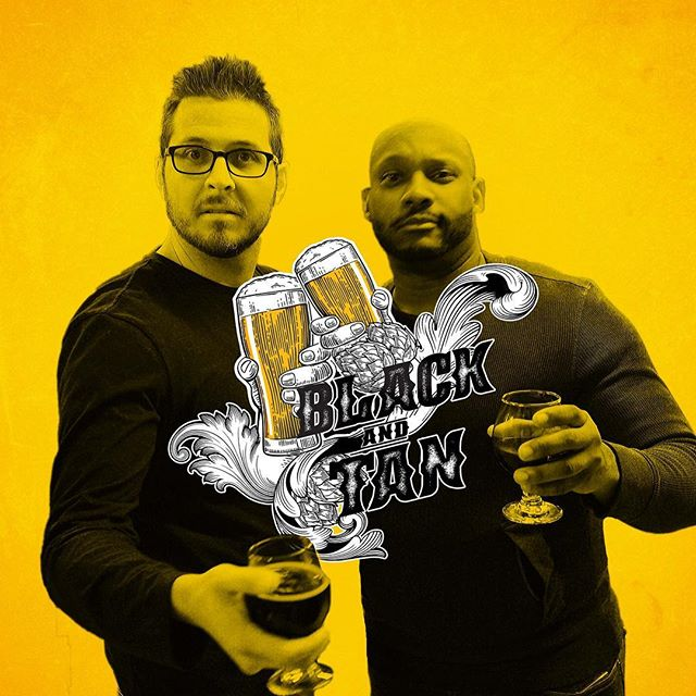 "New Episode! Black and Tan TV: Joined by the hosts of @blackandtantv, Jay and Kern, we discuss how they discovered craft beer, what drove them to create a series centered around craft beer, and what they learned about the craft beer industry in their first season. We all discuss how important social media has become for breweries today and how they us it for their Instagram reviews ""Brown Paper Baggin' It."" Then we look forward to next year and what it will bring the New York City craft beer scene and what we can expect from them for season 2. . . You can listen to this episode by clicking the link in the bio or searching ""Beer Friends Happy Hour"" on your favorite podcast app"