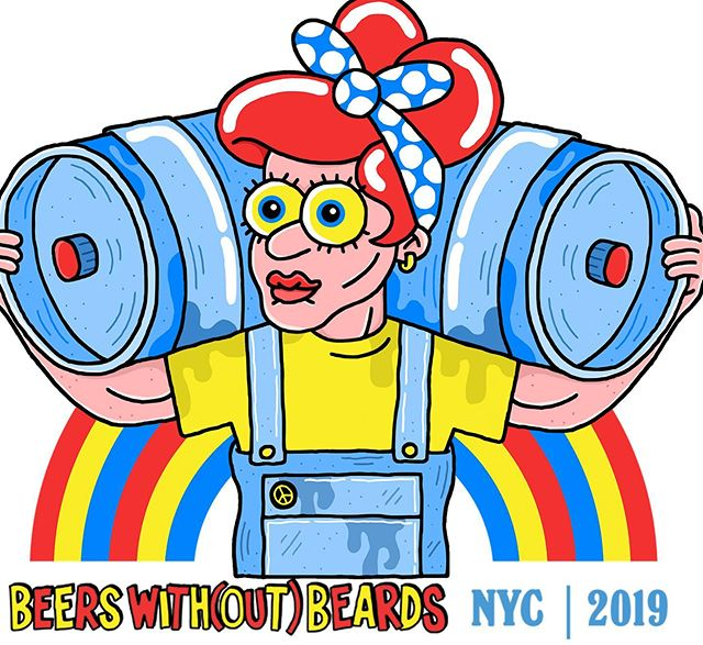 "New Episode! Beer With(out) Beards: We are joined by Grace Weitz of @hopculture to talk about the festival she organized that highlights and celebrates women in craft beer. We discuss why and how women are overlooked in this industry, how she got started in craft beer, and what drove her to start this festival. . . Beer With(out) Beards runs from August 7 - August 11. Buy your tickets on @eventbrite. . . You can listen to this episode by clicking the link in the bio or searching ""Beer Friends Happy Hour"" on your favorite podcast app"