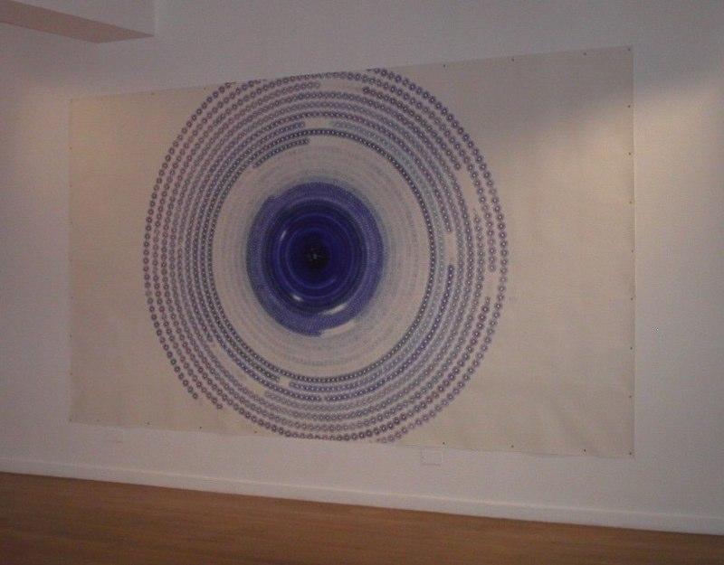 Large Blue Circle, 2462 minutes