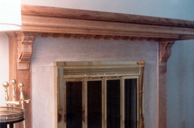 Fireplace Mantle I built