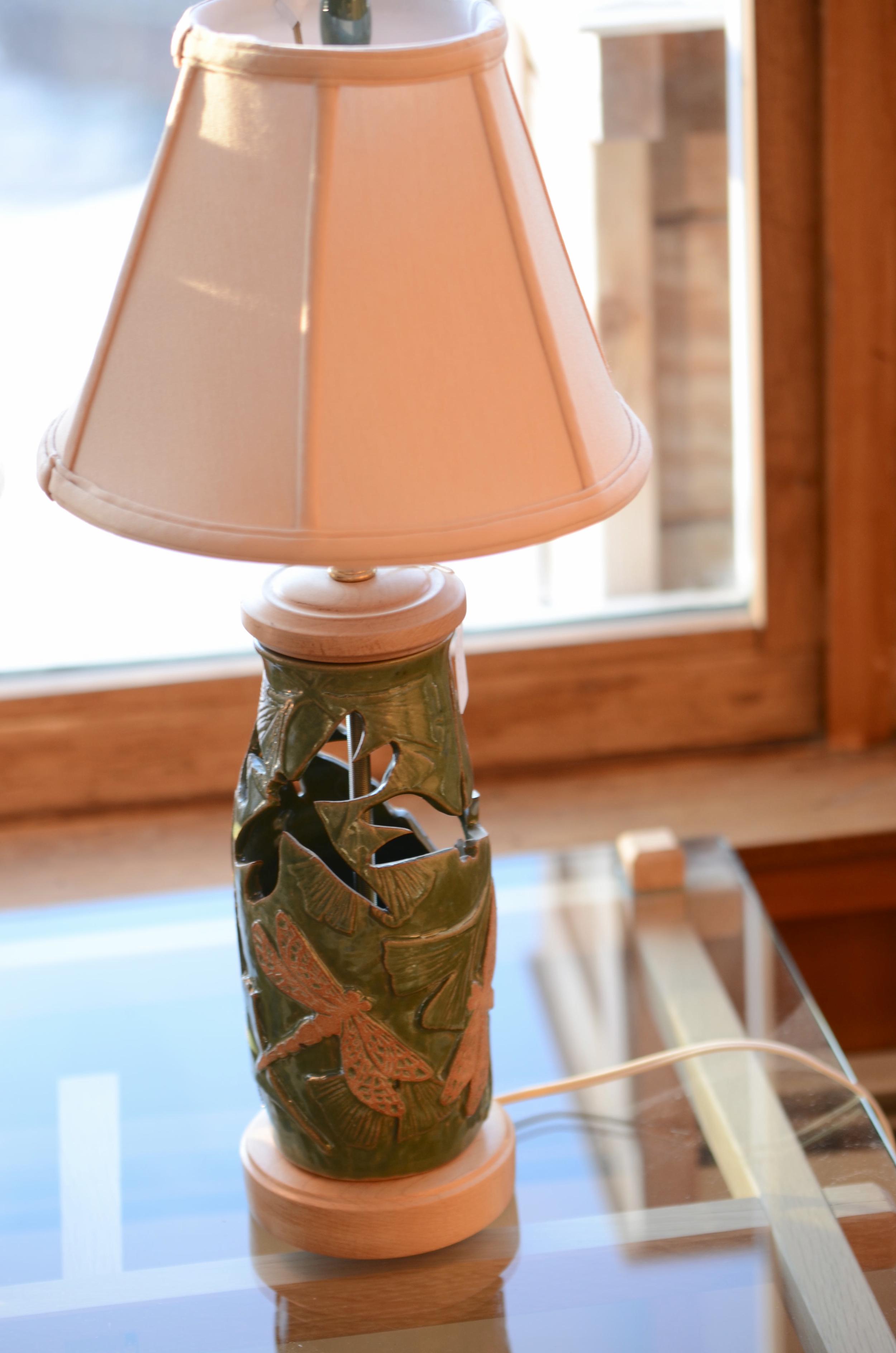Dragonfly lamp. Photo by Karen Kopacz.