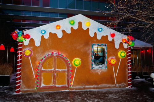 Gingerland House I helped complete in downtown Minneapolis, MN.  It's at the Marin Bar and Restaurant 901 Hennipen.