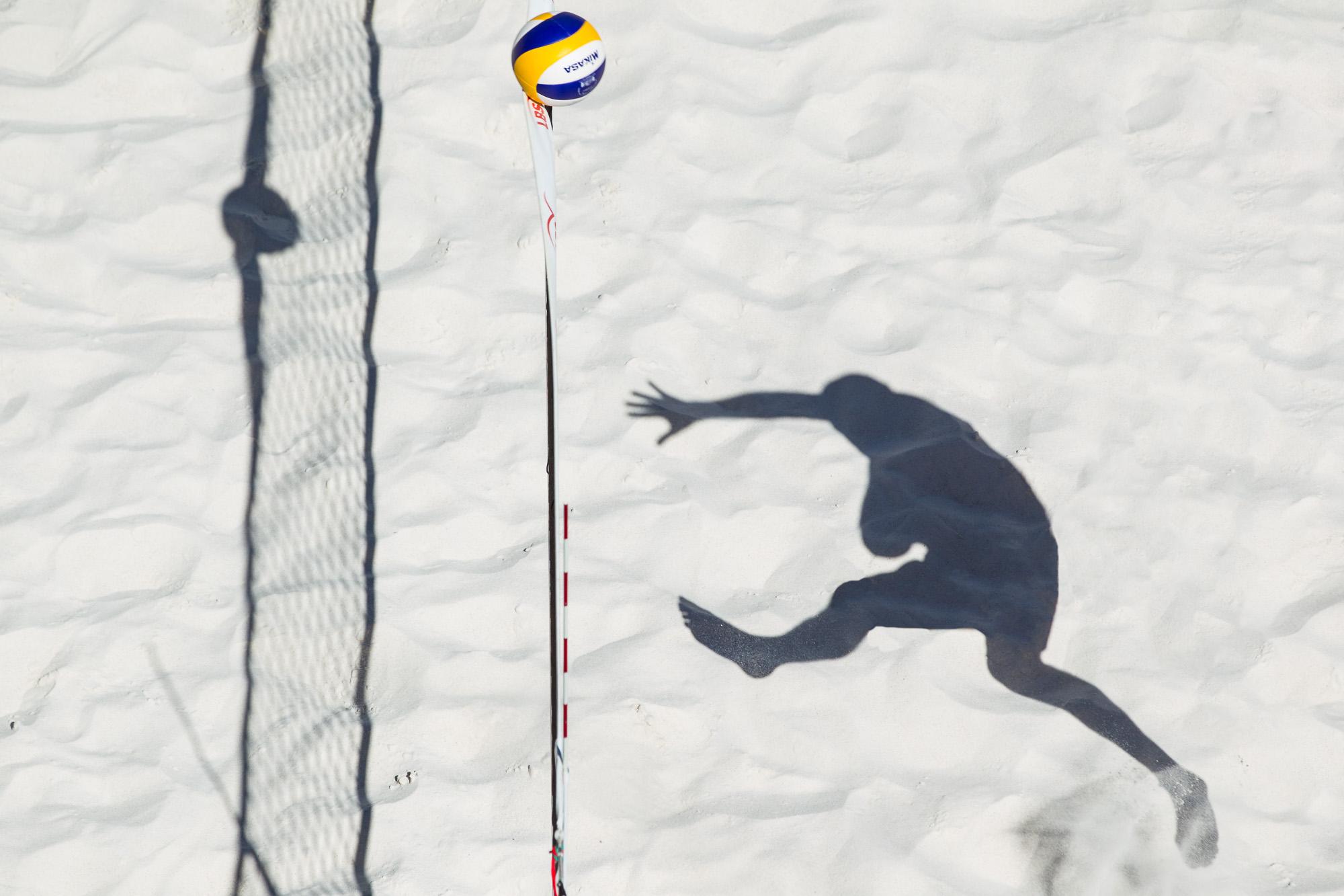 Heiko Steinkemper (USC Konstanz); LBS Cup Beachvolleyball A-City Stuttgart, Schwabenplatz, Stuttgart Germany, 20170618; Foto: Nils Wuechner/Eibner Pressefoto
