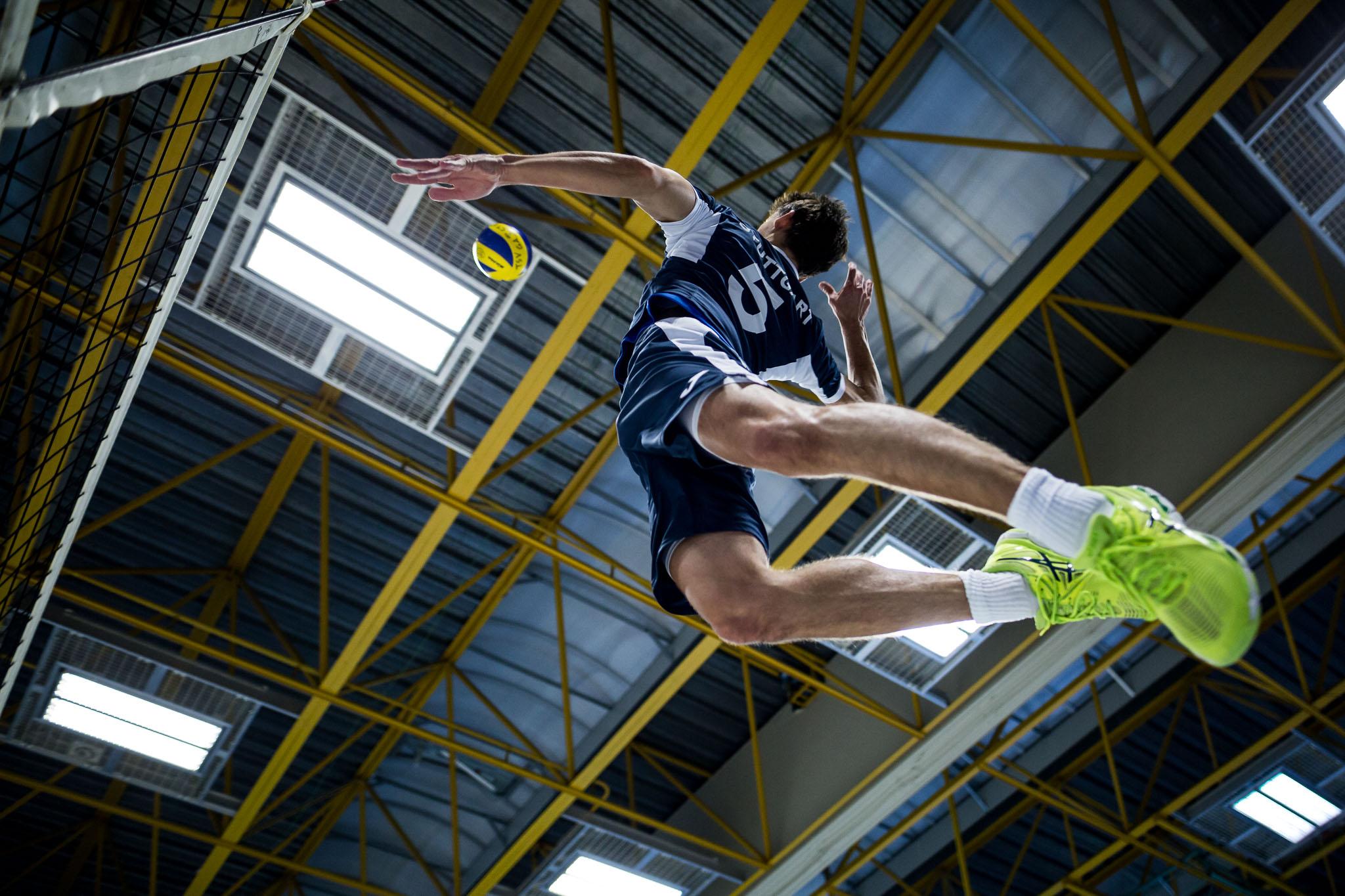 ; Volleyball Dritte Liga: TSV GA Stuttgart vs VfB Friedrichshafen 2, Stuttgart Hegel-Sporthalle, 20171111; Foto: Nils Wuechner / Eibner Pressefoto