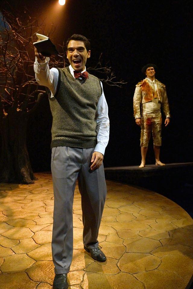 Lorca with Anthony J. Goes as Ignacio